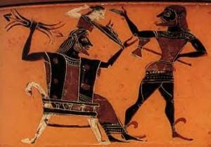 Athena naissance de Zeus