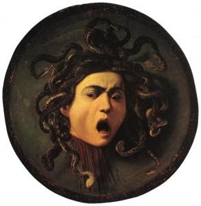 Meduse par Le Caravage