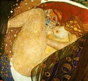 Zeus Danae Gustav Klimt