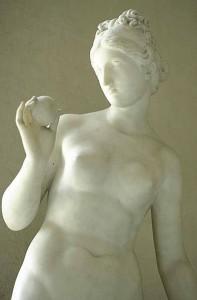 Aphrodite Vénus) à la pomme