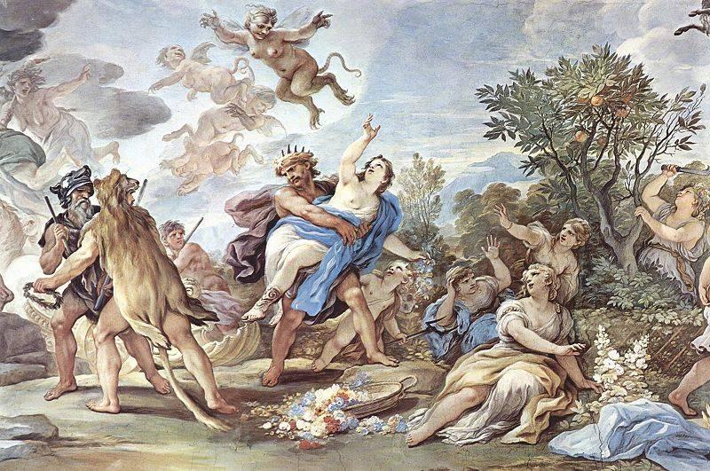 L enlèvement de Perséphone